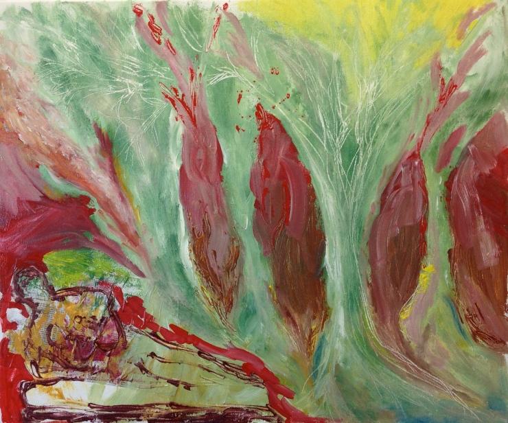 """""""Dartington"""" 2014, oil on canvas 24"""" x 20"""""""